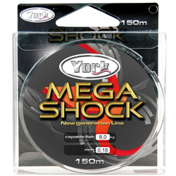 Żyłka York Mega Shock 0,16mm 150m 5szt